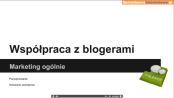 wspołpraca z blogerami